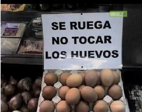 NoTocarLosHuevos